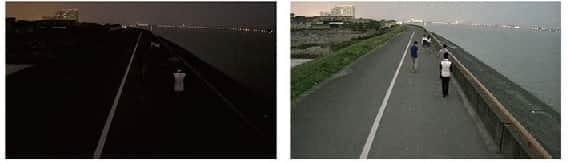 قابلیت استارلایت دوربین مداربسته دید در شب