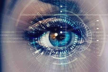 اکسس کنترل اسکن قرنیه چشم