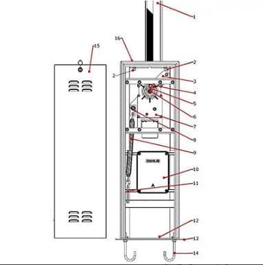 راهبند الکترومکانیک برقی
