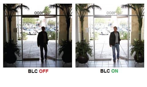 قابلیت blc در دوربین مداربسته