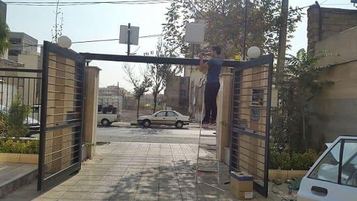نصب انتن و ریدر برد بلند rfid در تهران