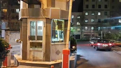 نمونه نصب انتن rfid شرق تهران شهرک کاج