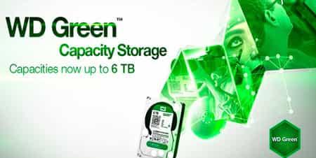 هارد دیسک سبز وسترن دیجیتال