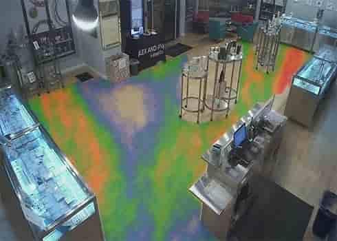 تکنولوژی نقشه گرمایی Heat Map در دوربین مدار بسته
