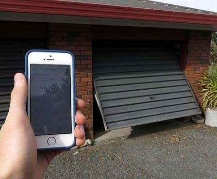 باز کردن جک پارکینگ با موبایل